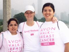 Our team - AVON Walk 2005