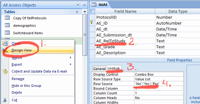 PORTS - Editing lists - 3