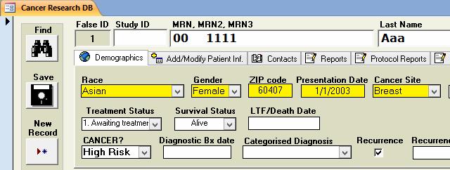 PORTS False ID and Study ID