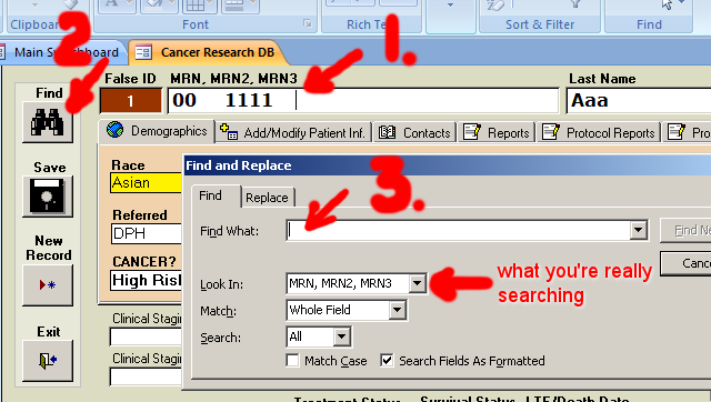 PORTS - How to search for a patient - 01